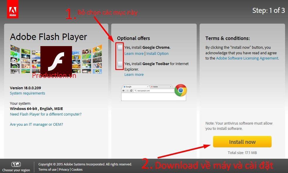 Tải Adobe Flash Player mới nhất