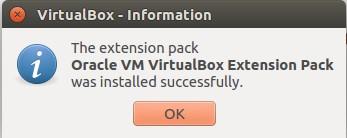 Cài đặt VirtualBox Extension Pack cho VirtualBox