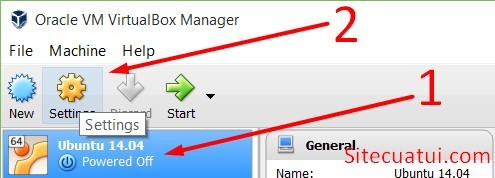 Cài đặt máy ảo VirtualBox