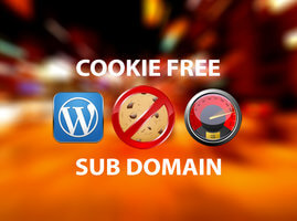Cookie-free domains cho Wordpress