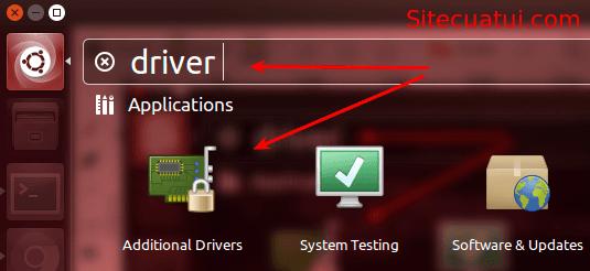 Additional Drivers Ubuntu