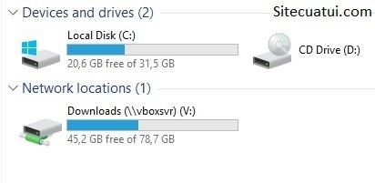 Thiết lập Shared Folders để chia sẻ file trong VirtualBox