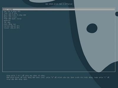 Tạo boot chuẩn UEFI-GPT