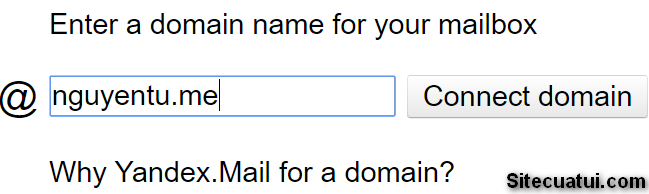 Yandex Mail for Domain
