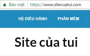 Cài đặt SSL cho website