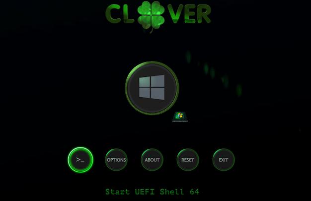 Khởi động vào chế độ UEFI từ chế độ Legacy qua Clover