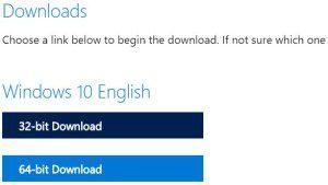 Tải Windows 7/8.1/10 ISO trực tiếp từ trang chủ Microsoft