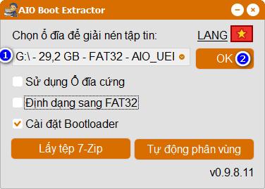 Tạo USB boot Win 10 chuẩn UEFI và Legacy