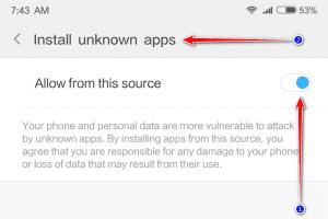 Cách cài file APK trên Android